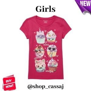 Girls' Cupcake Top